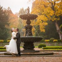 Wedding photo from The Royal Garden, Prague, Czech Republic