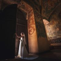 Wedding photo from Old Town Hall, Prague, Czech Republic