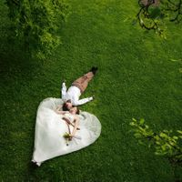 Wedding photo from Vojan Gardens, Prague, Czech Republic