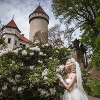 Wedding photo from Konopiště Castle, Czech Republic