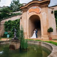 Wedding photo from Ledeburg Garden, Prague, Czech Republic