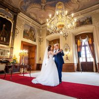 Wedding photo from Dobříš chateau, Czech Republic