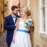 Wedding photo from Kampa, Prague, Czech Republic