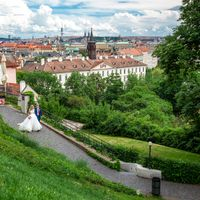 Wedding photo from Prague Castle, Prague, Czech Republic