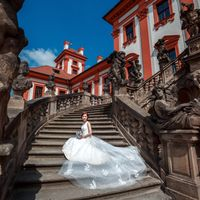 Wedding photo from Troja Castle, Prague, Czech Republic