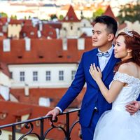 Wedding photo from Vrtba Garden, Prague, Czech Republic