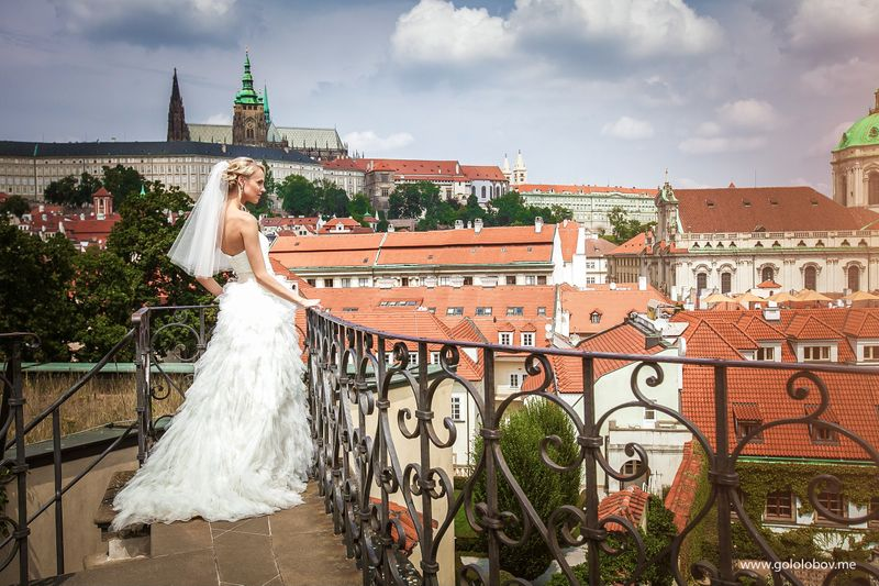 Christina & Leonid - Wedding in Vrtba Garden