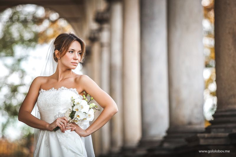 Irina & Eugene - Beautiful wedding photoshoot