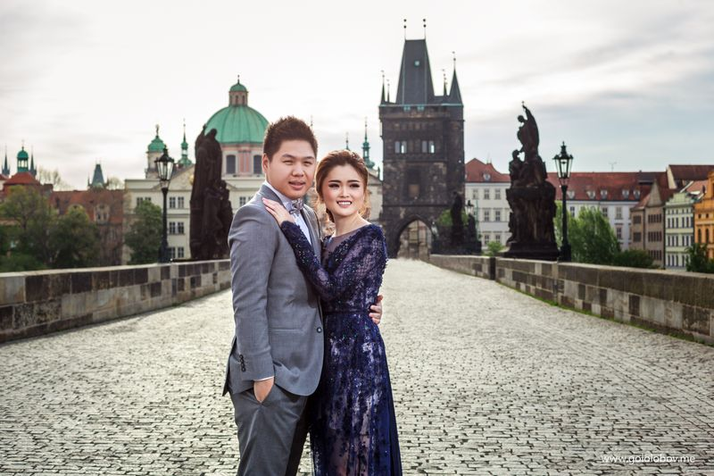 Sylvia and Ricko - Beautiful couple from Indonesia